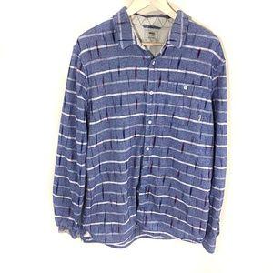 Vans Men's Button Down Shirt SZ XL